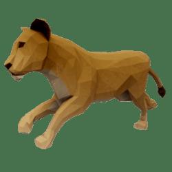 Running Lioness