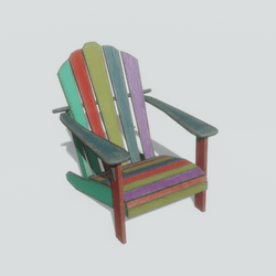 Adirondack Chair multi-color