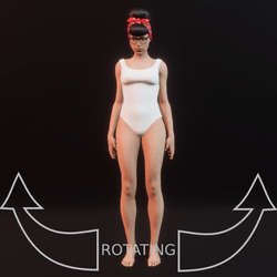 modelpose 04 rotating