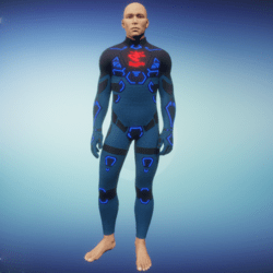 BioArmor ZV01 Body Male Blue