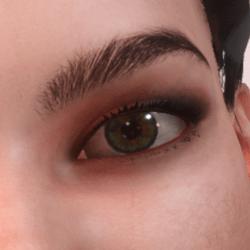 Daphne DarkOrange Eyeshadow