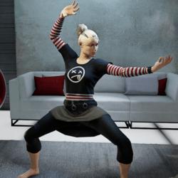 Kung Fu Beckon Gesture (Female)