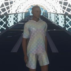 Rainbow Smiley Shirt & Shorts Set ☺
