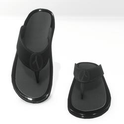 Thong sandals for male  AV 2 - black