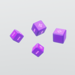Purple Fate Dice