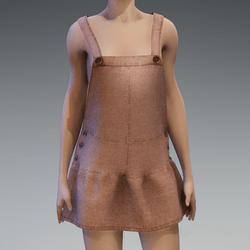AV 2.0  Jumpsuit skirt - Brown