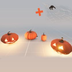 Halloween pumpkin pack + spider
