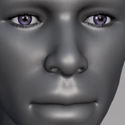 Men Eyes - Amethyst