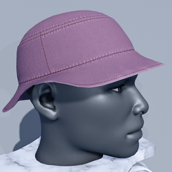 Men Bucket Sun Hat - Purple Grapeade