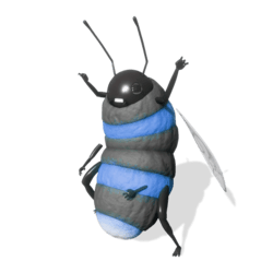 Bumble Bee (Blue) - Avatar