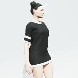 Black Baggy Shirt