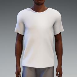 White Basic T-Shirt for Men
