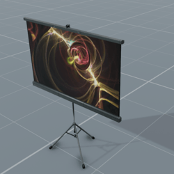 Portable Screen For Movies & Presentations