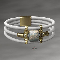 Wrapped Bangle Gold - MALE