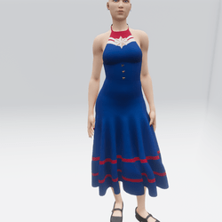 Captain Marvel Dress (TM)