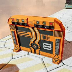 Low Poly Static Sci-Fi Gate
