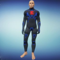 BioArmor ZV01 Body Male Grey