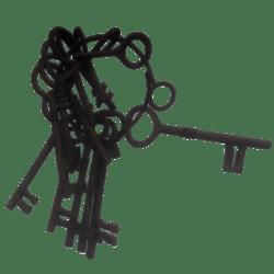 Dropped Skeleton Jailer's Keys
