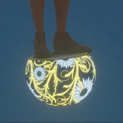 Glowing Sphere Seat (Female)