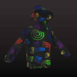 Loki Hoody - Neon2 - BoyFit