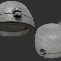 Bunker Lamp 2C