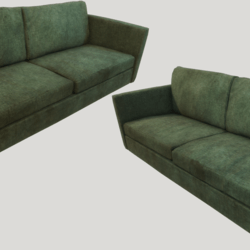 Old Dirty Couch - Green
