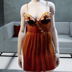 DEMO Silk Dress