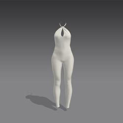 Valentina Bodysuit - White (MsAquaria)
