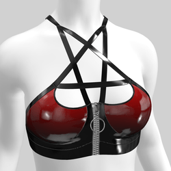 Top Lilith Vinyl Red & Black 2.0