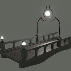 Bridge In Light