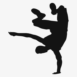 Brazilian Capoeira Fight Female