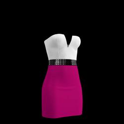 80's Day-Glow Club Dress 02