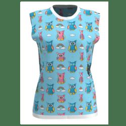 Cloud Owl Sleeveless T-shirt
