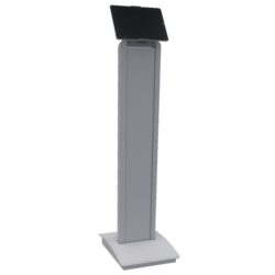 White Tablet Stand 03
