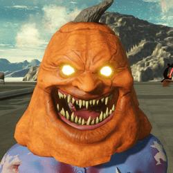 Pumpkin Mask(rigged)Female