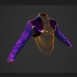Fashion Jacket - Violet Fusion Skin - female
