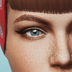 Eyes - Blue - Womens