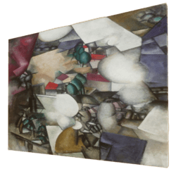 Les Fumeurs - Painting, Art