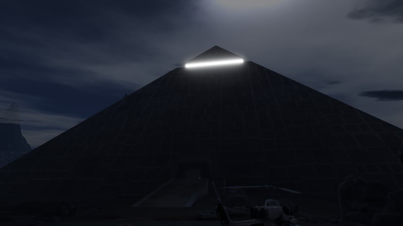 The Dark Pyramid