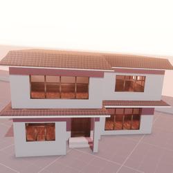 Anime house (full setup)
