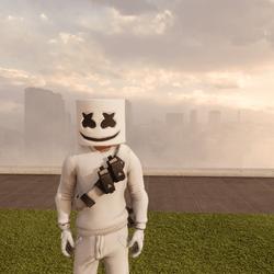 ★ Avatar Mesh ★ - Marshmello (Fortnite)