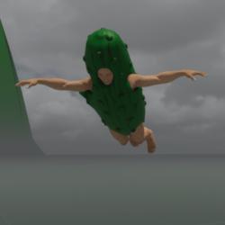 Flying - male