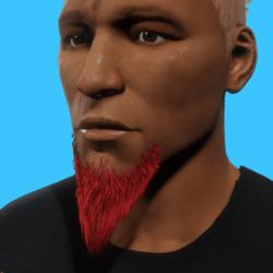 GoateeBeard_Red