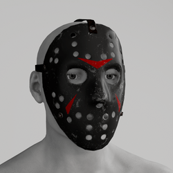 Killer mask black
