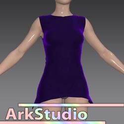 Simple Purple top