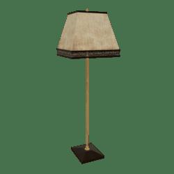 Scripted Floor Lamp