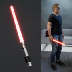 Light Saber Red_male