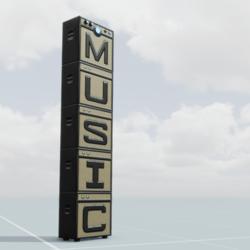Music Guitar Amp Stack