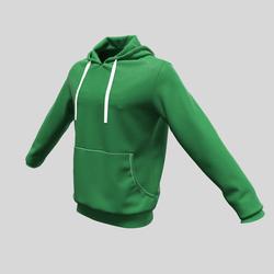 hoody male green