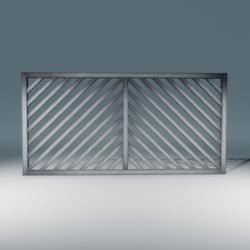 Mesh Diagonal Trellis Fence